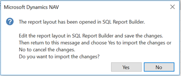 Working with ForNAV reports in the Custom Report Layouts