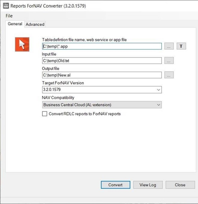 Using the ForNAV Converter to convert txt to AL - ForNAV